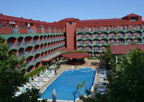 Hotel Kokiche 3*, Sunčev Breg, Bugarska, Leto 2020, Sunčev Breg Leto